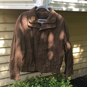 Wilson's L Distressed Bronze/Brown Classic Bomber